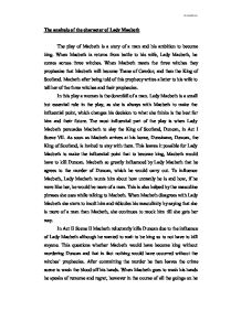 a research on the character of lady macbeth Lady macbeth character analysis essays: over 180,000 lady macbeth character analysis essays, lady macbeth character analysis term papers, lady macbeth character analysis research paper, book reports 184 990 essays, term and research papers available for unlimited access.