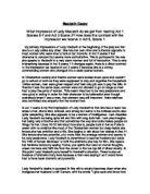 Macbeth Questions Essay