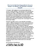 the principles of transformation in macbeth a play by william shakespeare Final essay on william shakespeare's the tragedy of macbeth choose one of the prompts listed on the next page, and write an organized and critical.
