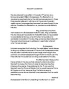 discuss the effectiveness of the opening three scenes of macbeth essay Macbeth thesis statements and important quotes below you will find five outstanding thesis statements for macbeth by william shakespeare that can be used as essay starters or paper topics all five incorporate at least one of the themes found in macbeth and are broad enough so that it will be easy to find textual support, yet narrow enough to .