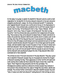 macbeth essay guilt thesis