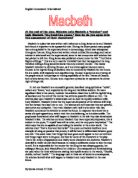 the critical changes in the character of macbeth Essay on analysis of macbeth's soliloquy in how the character of macbeth changes between act i critical analysis of iago's soliloquy in act 2 scene 3 of.