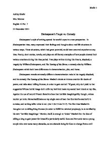 Descriptive Essay Topics For High School Students Page  Zoom In Proposal Essay Topics Examples also Persuasive Essay Examples For High School Macbeth A Tragedy By William Shakespeare And The Taming Of The  Definition Essay Paper