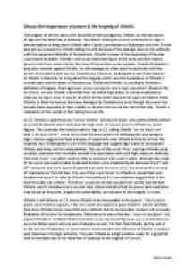 othello power essay