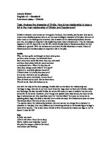 essays on othello othello essay 84 000 term papers and essays