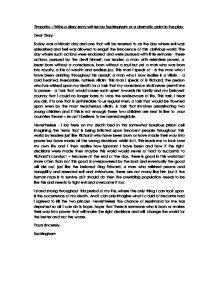 richard iii evil essay