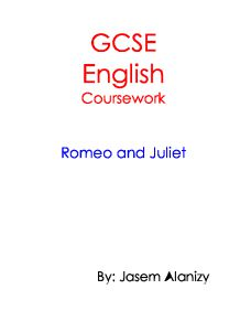 romeo and juliet gcse coursework questions