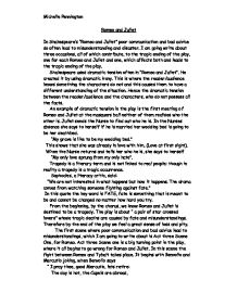 Romeo And Juliet Sparknotes Pdf