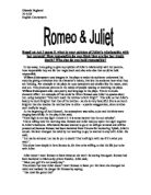 who is responsible for romeo and juliets death essay Free essay: 25 january 2012 who is responsible for romeo's death in the play romeo and juliet by william shakespeare there is much debate about who is.