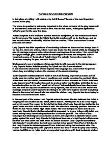assignment in romeo and juliet act iii scenes 1 & 2 essay Romeo and juliet act 1 scene 5 essay questions  capulet 121 romeo and juliet act 1 scene 5 essay help  romeo and romeo and juliet act ii scenes iii through.