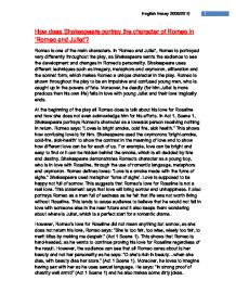 how does shakespeare portray the character of romeo in romeo and william shakespeare acircmiddot romeo and juliet page 1 zoom in