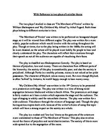 athol fugard and realism theatre english literature essay English m105c chicana/o literature since el movimiento prof perez-torres  stories, graphic narratives, theatre,  athol fugard, and martin mcdonagh.