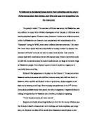 Sympathy for macbeth - Essay Example