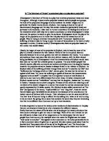 merchant of venice essay gcse english marked by teachers com page 1 zoom in