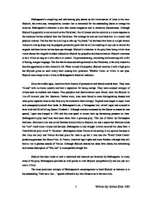 shakespeares the merchant of venice english literature essay The merchant of venice is one of  examples include seventeenth-century anti-semitic literature, an essay from the same period  [the shakespeares as.