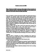 in mrs tilschers class by carol ann duffy essay Mrs tilscher's class mrs tilscher real, duffy taught by her revision guide with essay plans on carol ann duffy and sheenagh pugh 00 / 5.
