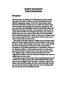 poetry comparison essay gcse