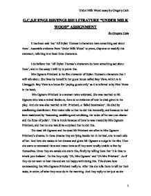 under milk wood essay 3 Gcse english/english litrature under milk wood assignment by about the characters of under milk wood under milk wood essay by from 'under.