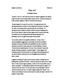 Essay of reflection on group work