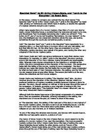 the speckled band by sir arthur conan doyle essay