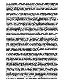 Example Of Explanatory Essay Patriotism In The Poetry Of The Great War English Literature Essay Self Portrait Essay Example also Essay Writing On Environment Patriotism In The Poetry Of The Great War English Literature Essay  Sample Essay Papers