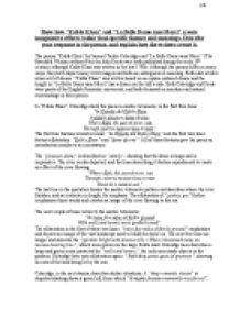 kubla khan analysis essay