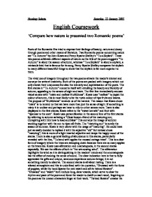 the nature of romanticism of john keats english literature essay Essays on the romantic poems of john keats the the romantic poems of john keats is one of the keats is one of remarkable romantic poets in english literature.