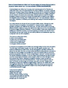 where is the thesis statement located in a literary analysis essay