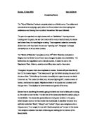 diagnostic essay on waterloo by raymond garlick gcse english  related gcse war poetry essays