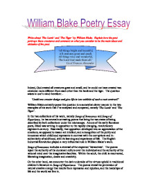 William Blake Critical Essays