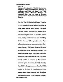 description of a beggar essay