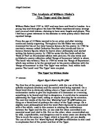 the chimney sweeper literary analysis by william woodsworth Analysis of there was a boy by william wordsworth compared to the chimney sweeper by william blake tone and mood in there was a boy compared to the chimney sweeper.