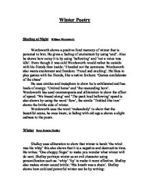 winter poetry skating at night william wordsworth gcse  page 1 zoom in