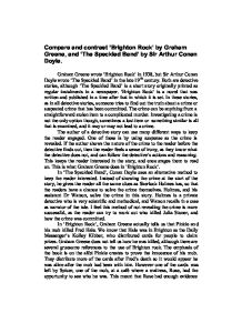 conan doyle and graham greene essay The hound of the baskervilles stage 4 this is perhaps the most famous detective story in the world sherlock holmes is certainly the most famous detective sir arthur conan doyle created him almost 10q years ago, but his adventures still seem  fresh and exciting today - , to understand this story, you must understand  graham greene, ruth.