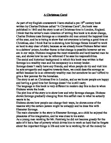 a christmas carol summary of theme and narrative gcse english  page 1 zoom in