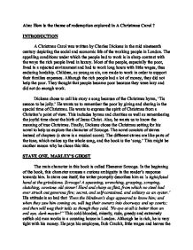 aim how is the theme of redemption explored in a christmas carol   charles dickens · a christmas carol page 1 zoom in