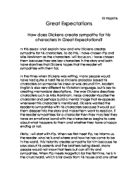 creating memorable characters in great expectations essay