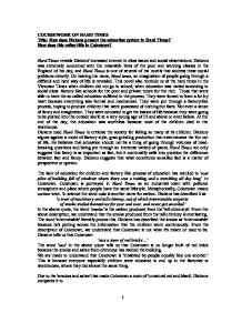 title how does dickens present the education system in hard times page 1 zoom in