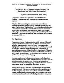 Charles Dickens The Signalman Essay  Essays On Health Care Reform also Synthesis Example Essay  Sample English Essay