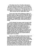 Short story comparison essay