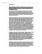 critical analysis of the signalman