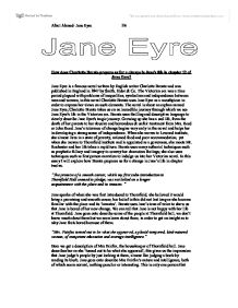 Chapter one of Charlotte Bronte's Jane Eyre Essay