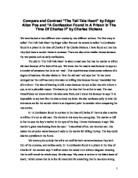 essay on edgar allen poe s the tell tale heart gcse english compare and contrast amp quot the tell tale heart amp quot by edgar allan poe and amp quot a confession