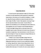essay on edgar allen poe s the tell tale heart gcse english  themes of edgar allen poe comparing the black cat and the cask of