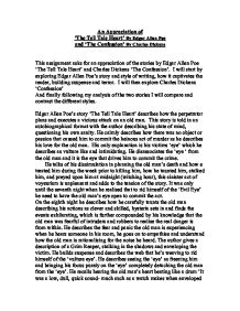 an appreciation of the tell tale heart by edgar allan poe and  page 1 zoom in