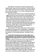 Position Paper Essay Poes Intention When Writing Ampquotthe Fall Of The House Of  Usherampquot Was Not To  Essays About High School also Example Of Thesis Statement For Argumentative Essay Examine The Overtones Of Gothic Horror In Edgar Allen Poes Tale The  How To Write A Good Essay For High School