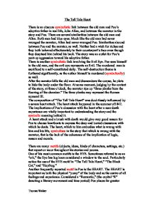 similarities between edgar allan poe and tell tale heart Similarities between edgar allan poe and tell tale heart andrew mcclarren english 015 edgar allan poe remains widely recognized in literature to this day for his.