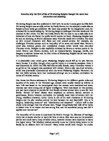 examine why the first critics of wuthering heights thought the  page 1 zoom in