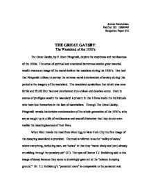 Controversy Essay The Great Gatsby The Wasteland Of The S Gcse English Page  Zoom In English Literature Essay Structure also Indian Removal Act Essay Essay Great Gatsby Essay Poet Great Gatsby Corruption Of American  Judy Brady I Want A Wife Essay