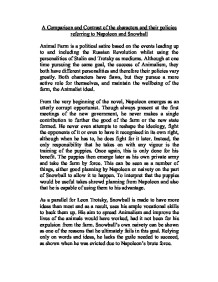 """trotsky snowball research paper Research paper examples - who is snowball in animal farm the animal farm by orwell (whose more famous work is another dystopia """"1984"""") is a very descriptive portrayal of soviet union and its degradation from the utopia of equality to the oppressive state ruled by tyrannic party that, while claiming that they still follow the initial principles of communism, are not better than their."""